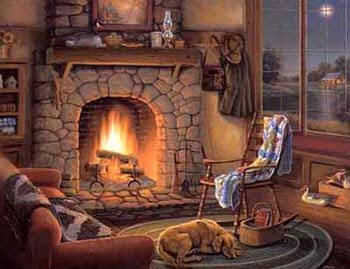 cottage-fireplace